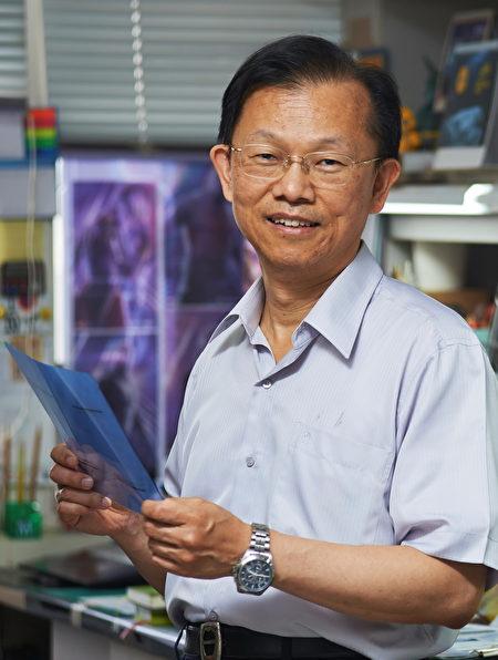 謝森永醫師再次獲得傑出研究獎的肯定。