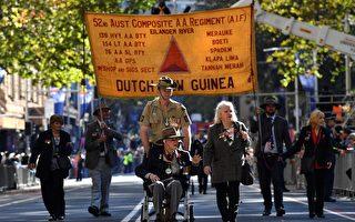 組圖:澳洲各地舉行澳紐軍團日紀念活動