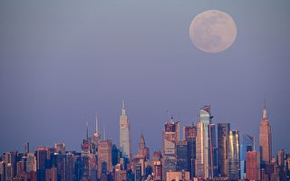 組圖:超級粉紅月亮再現美日歐等地