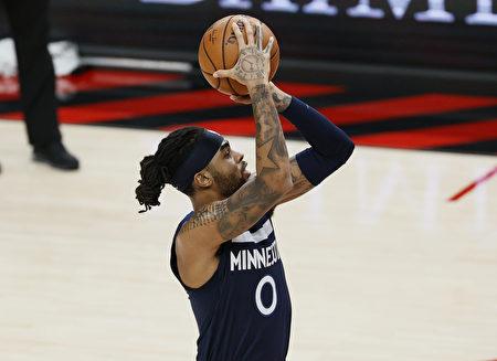 NBA羅素致勝上籃 森林狼橫掃西區龍頭爵士