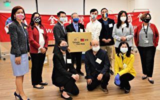 台灣商會助防疫 12度為社區捐口罩