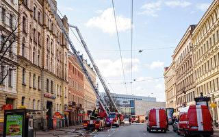 組圖:拉脫維亞大火 造成至少8人死亡