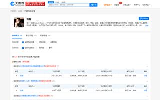 大陸明星趙薇被凍結股權 涉及272.6萬元