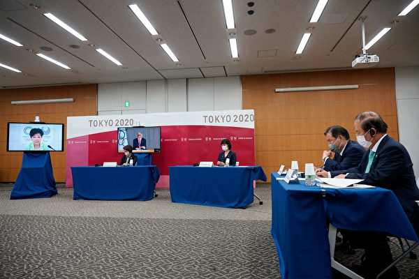 組圖:五方會議商討東京奧運防疫措施