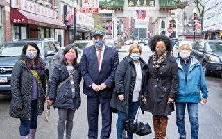 波士頓代理市長珍妮探訪華埠商家