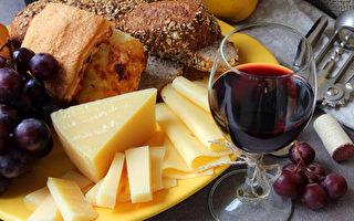 研究:吃奶酪喝紅酒可降低老年痴呆症風險