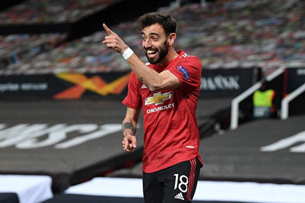 組圖:歐聯盃半決賽首回合 曼聯6:2大勝羅馬