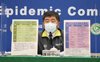 台湾增1例本土确诊、3张足迹图卡 遍及多县市