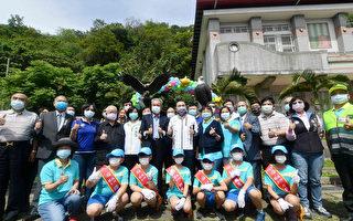 成州国小百年校庆 观鹰铜雕揭幕典礼