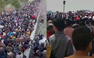杭州西湖游客如织 泰山人多景区不认遭驳斥