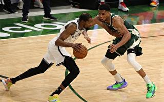 NBA顶尖对决 亚德托昆波力压杜兰特