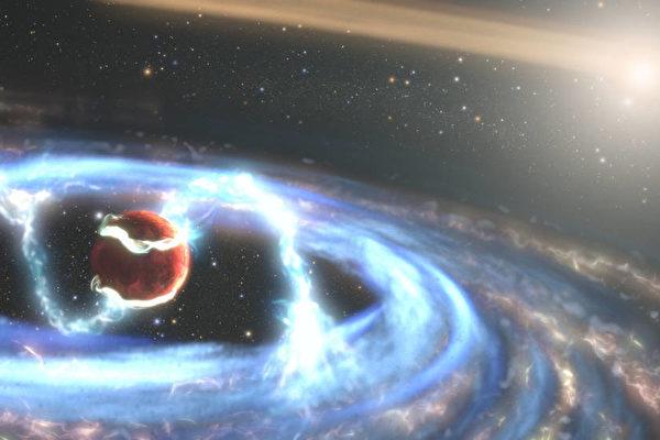 难得一见 哈勃见证全新巨型行星形成过程