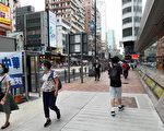 香港食环署回应 已清走诬蔑法轮功展示架