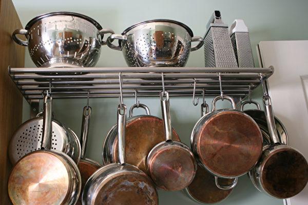 收納, 鍋具