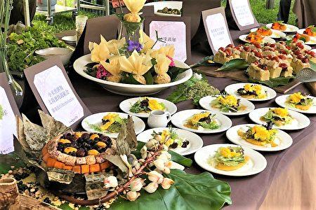 慈心基金會與全台16家綠色餐廳合作,推出台東小米創意料理。