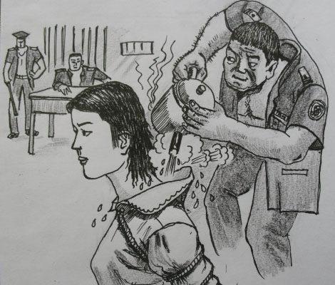 沸水烫后背 锦州老人在辽宁女监遭受折磨