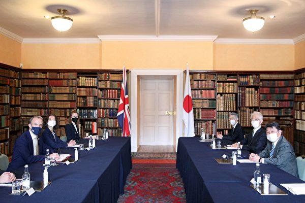 組圖:G7外長會議 英日外長舉行雙邊會談