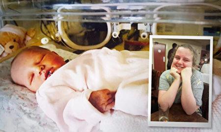 8個月孕婦大火救人早產 女嬰現16歲茁壯成長