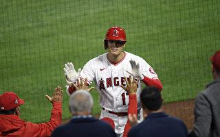 MLB大谷翔平敲第九轟 天使仍不敵光芒