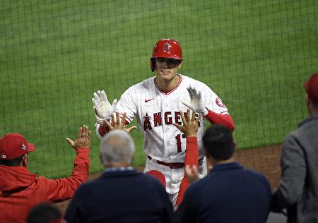 MLB大谷翔平敲第九轰 天使仍不敌光芒