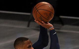 NBA威斯布鲁克生涯第178次大三元