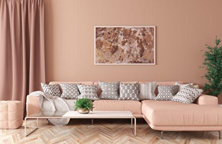 Modern,Interior,Of,Living,Room,With,Peach,Corner,Sofa,,Coffee,Shutterstock,客厅