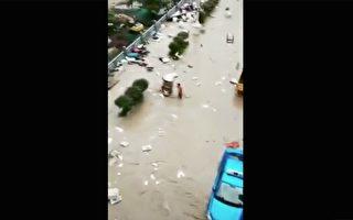 8省遭暴雨 北京等机场超200架次航班取消