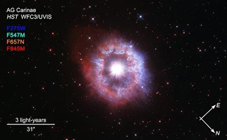 哈勃31歲生日 NASA拍攝「明星」照片紀念