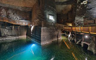 组图:波兰维利奇卡盐矿 神奇的地下盐世界
