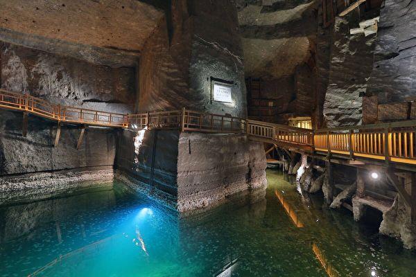 組圖:波蘭維利奇卡鹽礦 神奇的地下鹽世界