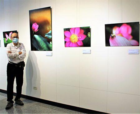 《晨光錦繡》是吳景騰在新北安坑的夏日清晨所拍攝的作品。