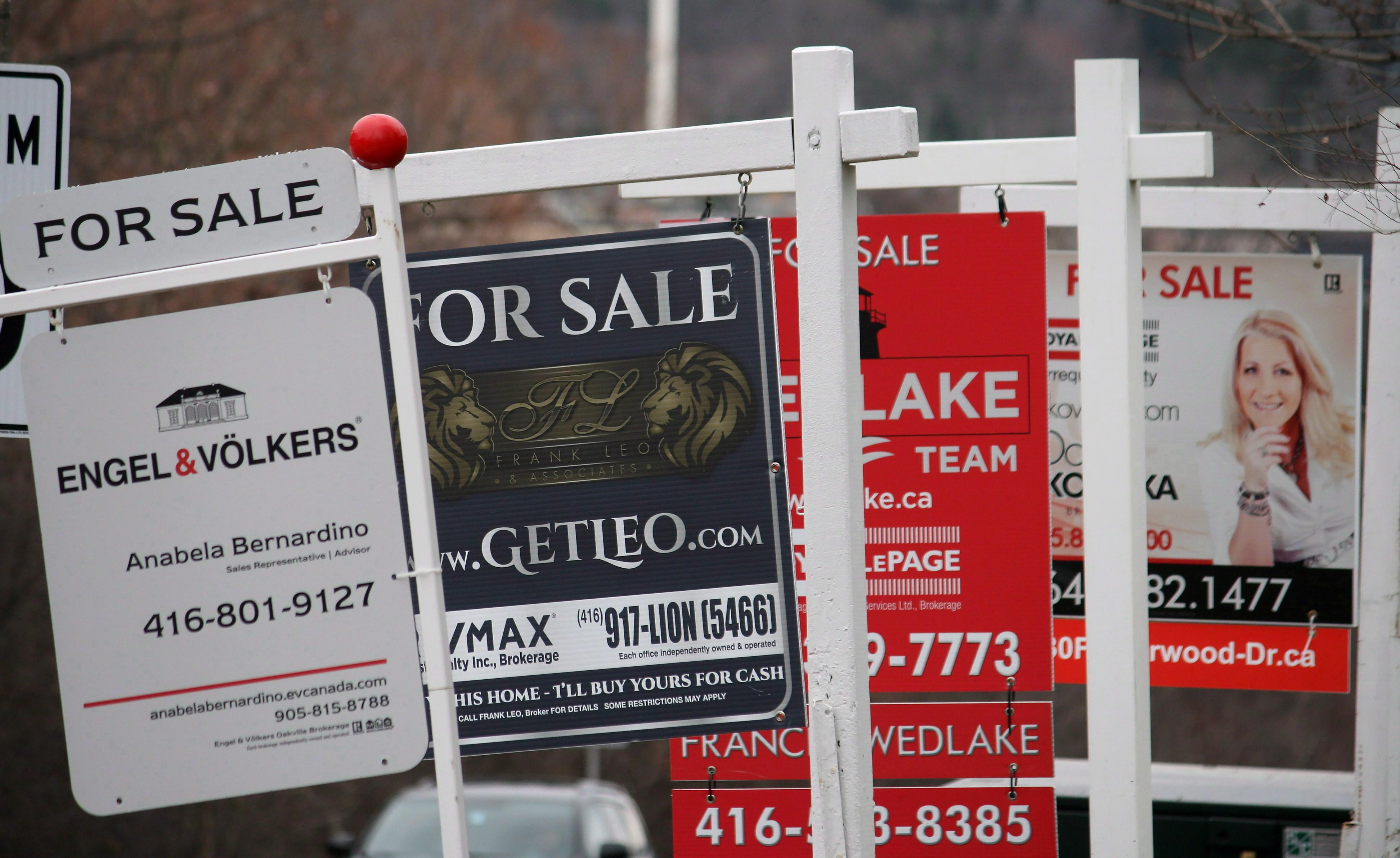 加拿大房市走到十字路口 迎来两难困境