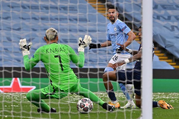 組圖:歐冠盃半決賽次回合 曼城2:0勝PSG