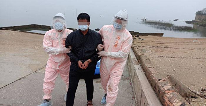 5天內第2起 中國男子駕橡皮艇偷渡