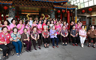 九十歲阿嬤初體驗 四結福德廟慶祝母親節