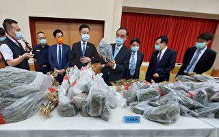 竹市警破獲市值5億大麻毒品案 查扣1540活株