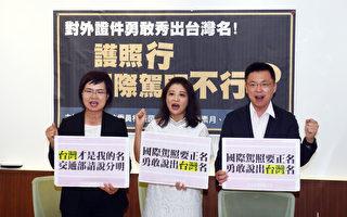 立委促国际驾照标注台湾