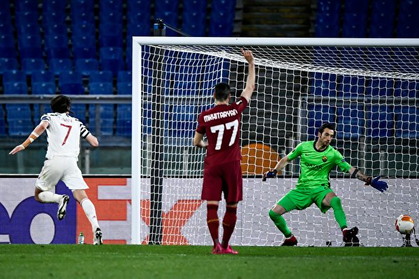 組圖:歐聯盃半決賽次回合 曼聯總分8:5晉級