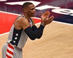 NBA威少生涯第180次大三元 奇才延長屠龍