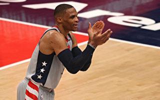 NBA威少生涯第180次大三元 奇才延长屠龙