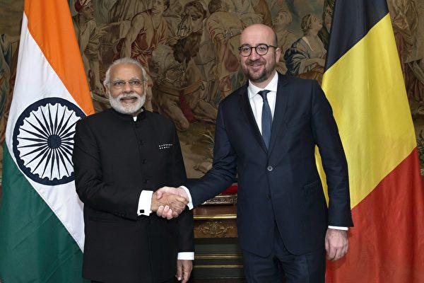 對抗中共 歐盟和印度同意重啟貿易談判