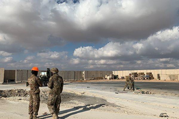 美军驻伊拉克基地遭无人机袭击
