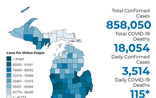 美密西根是全美從中共病毒中恢復最慢州