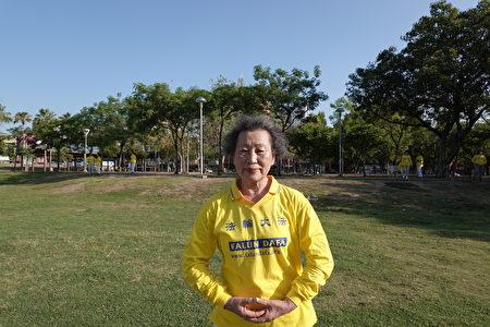 李张女士感念法轮功创始人的慈悲伟大。
