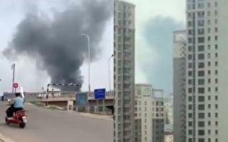 北京连续两天出现火灾 通州施工工地起火