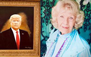 美国88岁业余老画家:我是爱国者