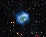"""来自宇宙""""钻石项链"""" NASA公布星像图"""