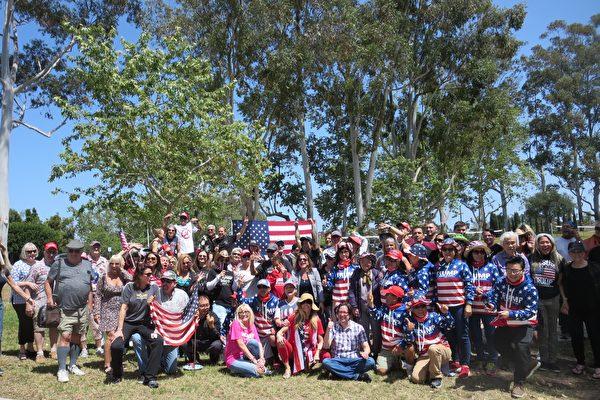 南加民眾:慶歐洲勝利日 提倡美國精神
