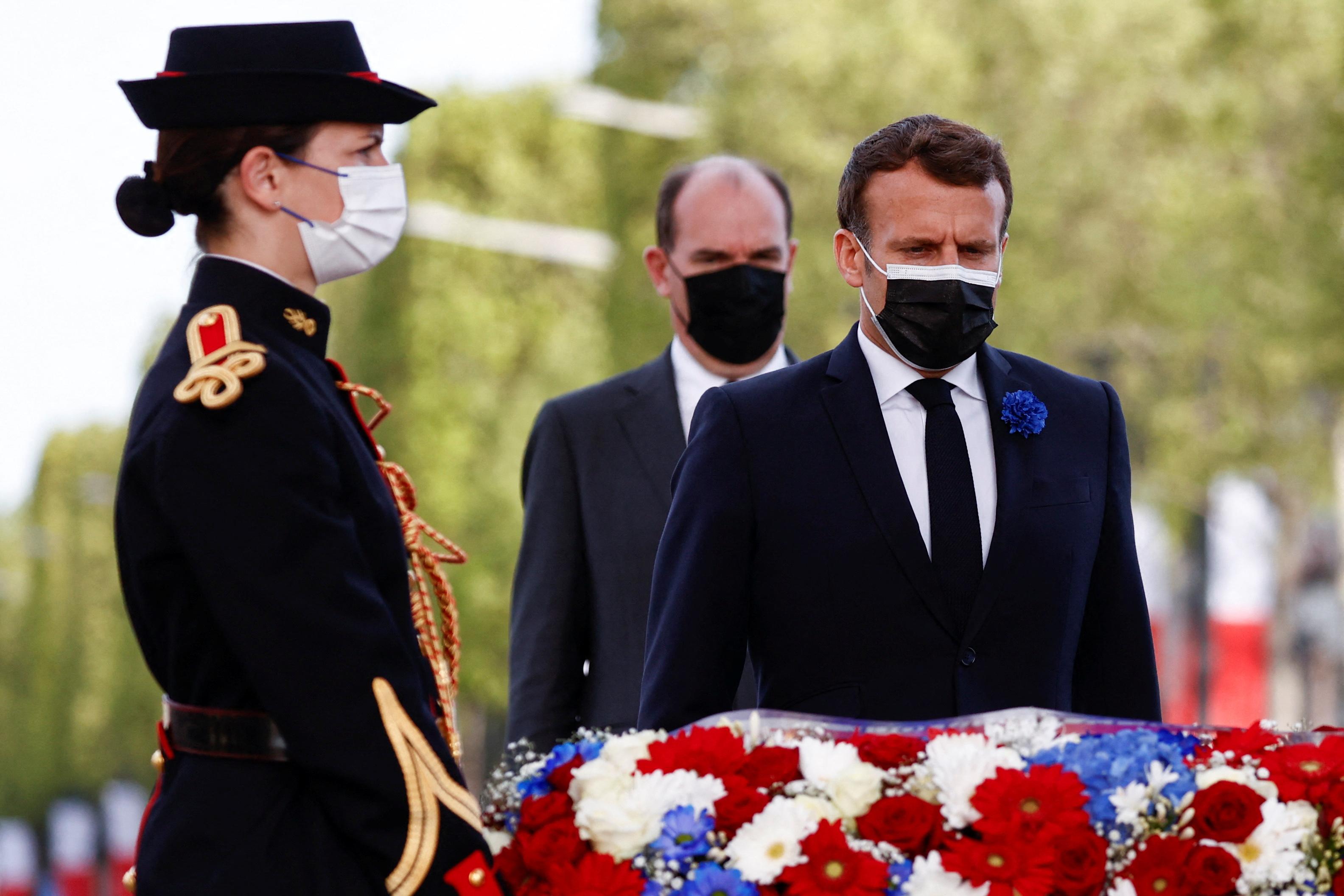 法國舉行二戰勝利76周年紀念儀式(多圖)