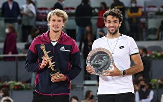 兹维列夫逆转封王 马德里网赛第二冠
